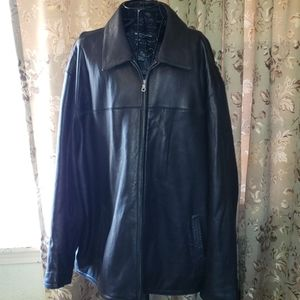 Pronto-Uomo Leather 3xl coat